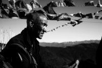 Bhutan – Mönch
