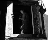 Bhutan – Mönche im Kloster